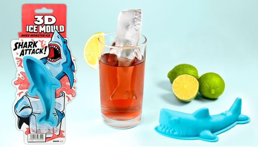 3d Shark Ice Mold Poster