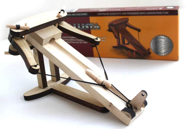 Abong Miniature Ballista Kit Medieval Office Toy