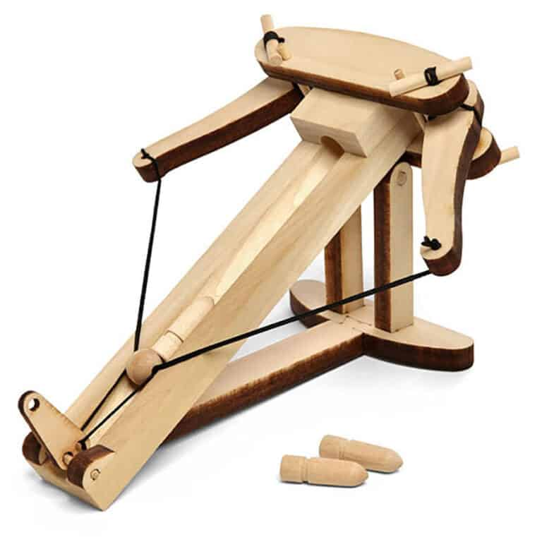 Abong Miniature Ballista Kit Wooden Toy Kit