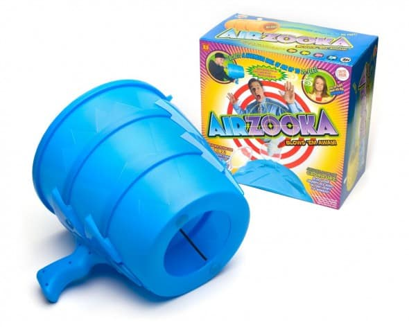 Airzooka Blue With Colorful Box Package