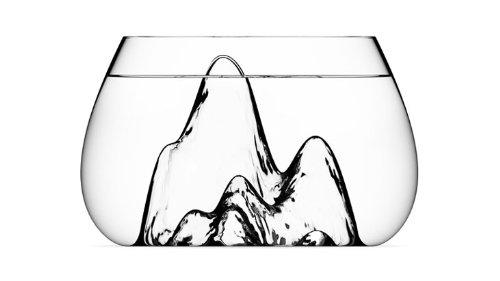 Aruliden Glasscape Fishbow Handmade Piece