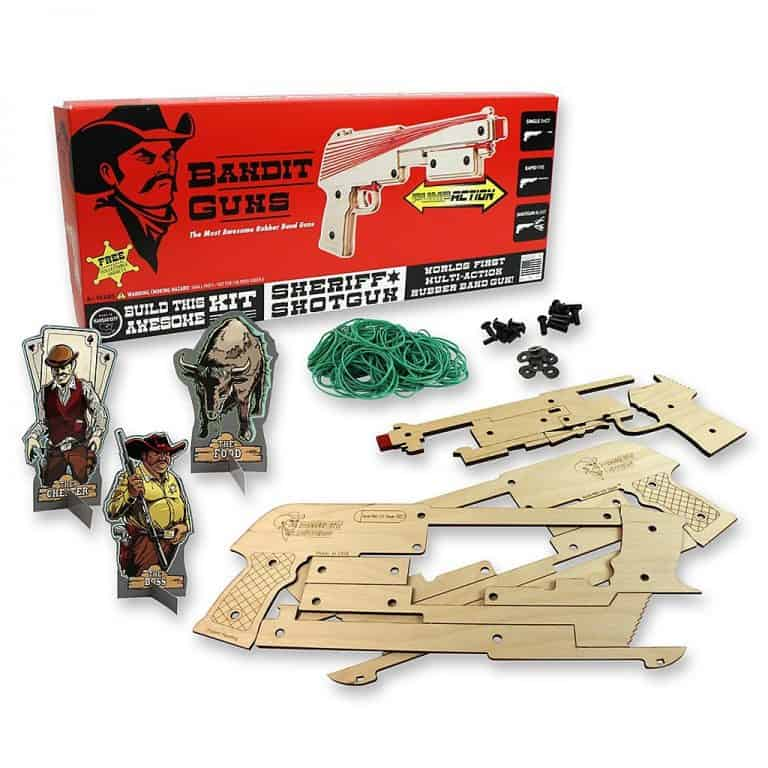 Bandit Guns Cowboy Themed Toy