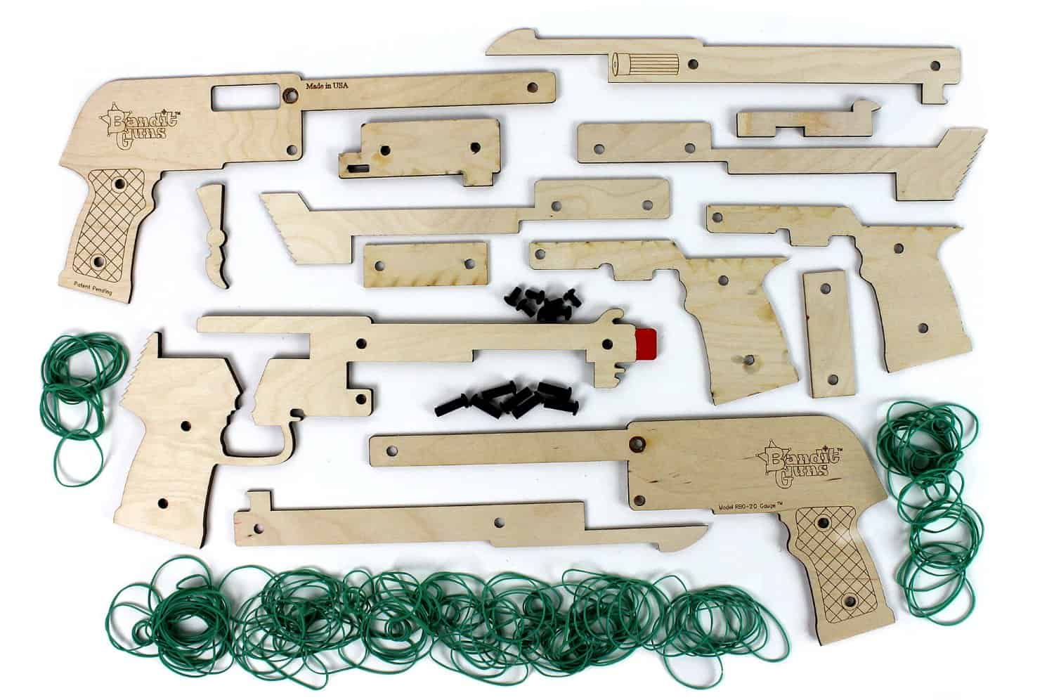 Bandit Guns Rubber band Gun DIY Kit