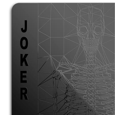 Black Playing Cards Joker