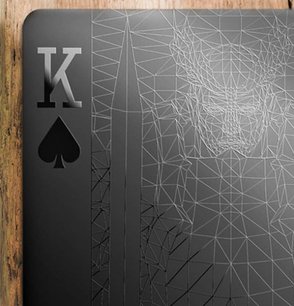 Black-Playing-Cards-King-Close-up