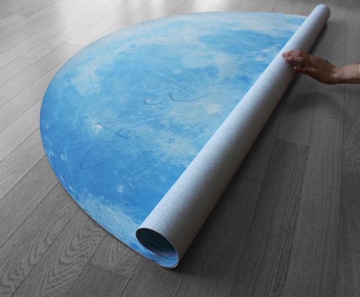 Blue Moon Waltz Rug Roll Over