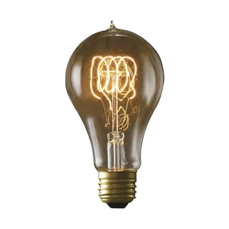 Bulbrite Edison NOS60-VICTOR 60-watt Incandescent Nostalgic Victor Loop A19