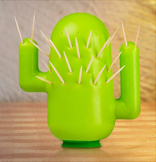 Cactooph Toothpick Holder Cactus Novelty Item 2