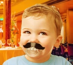 Pacifier for the young and hip!