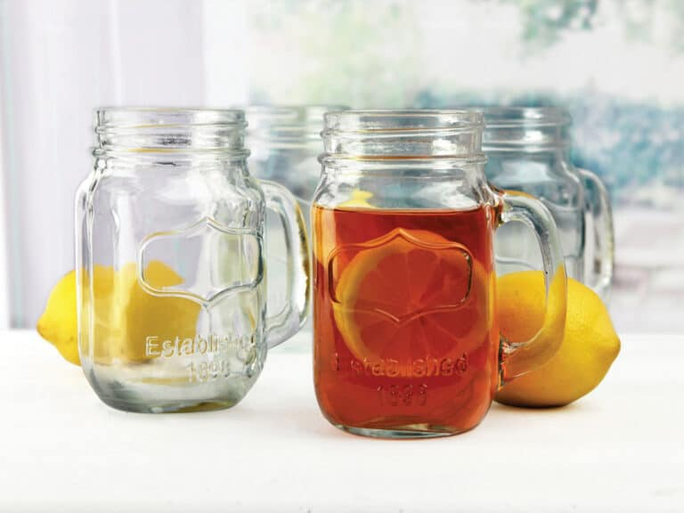 Circle Glass Yorkshire Mason Jar Mug Cool House Warming Gift