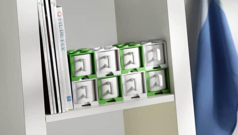 Cube Mug Storage Stack