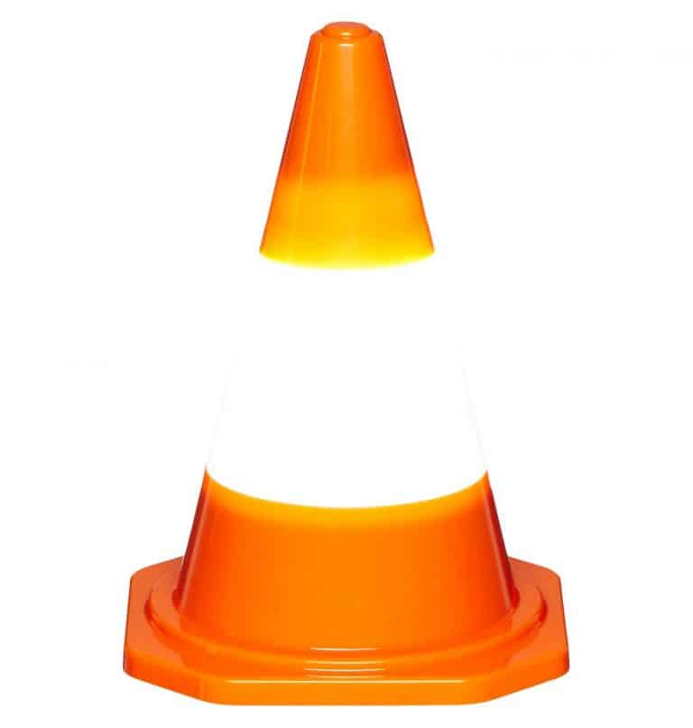 DCI Multi Purpose Traffic Cone Light Desktop Accent