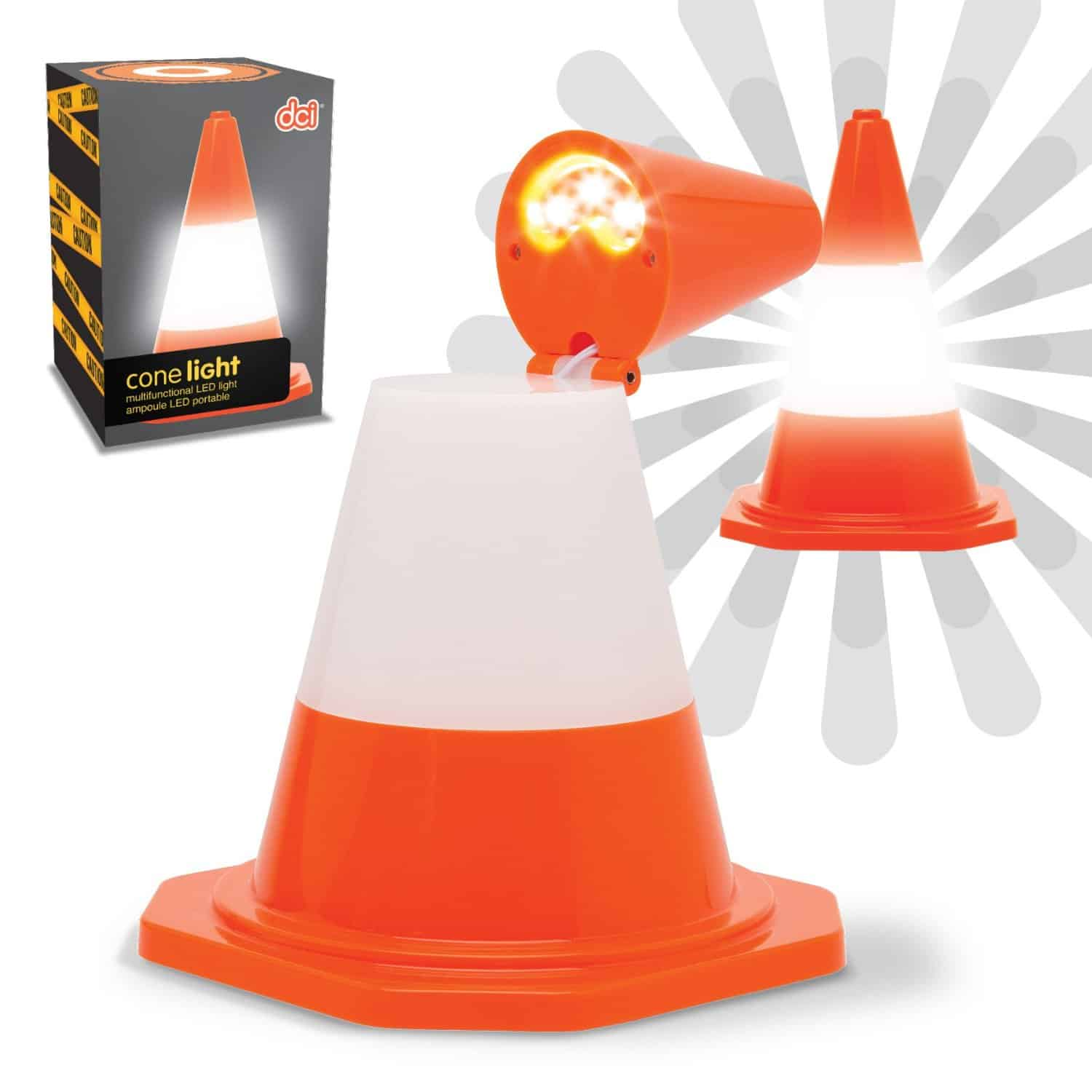 DCI Multi Purpose Traffic Cone Light Novelty Item