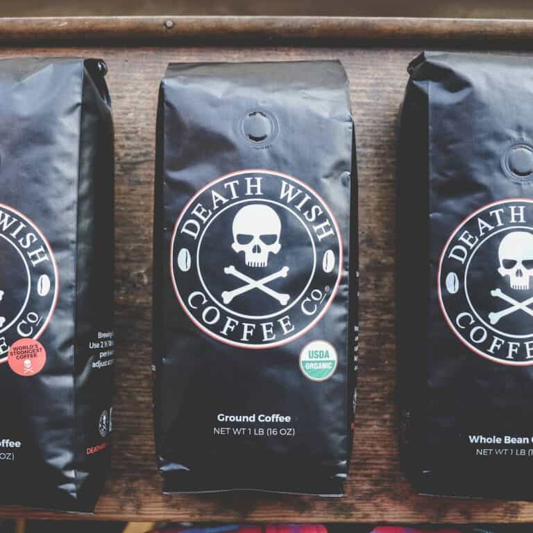 Death Wish Worlds Strongest Coffee For Caffeine Addicts