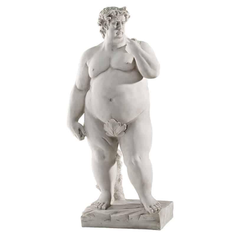 Design Toscano Super-Sized David Garden Statue Obese