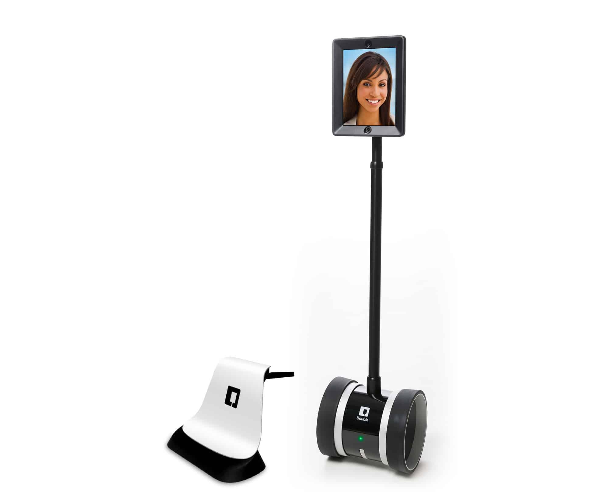 Double Robotics with Charging Dock