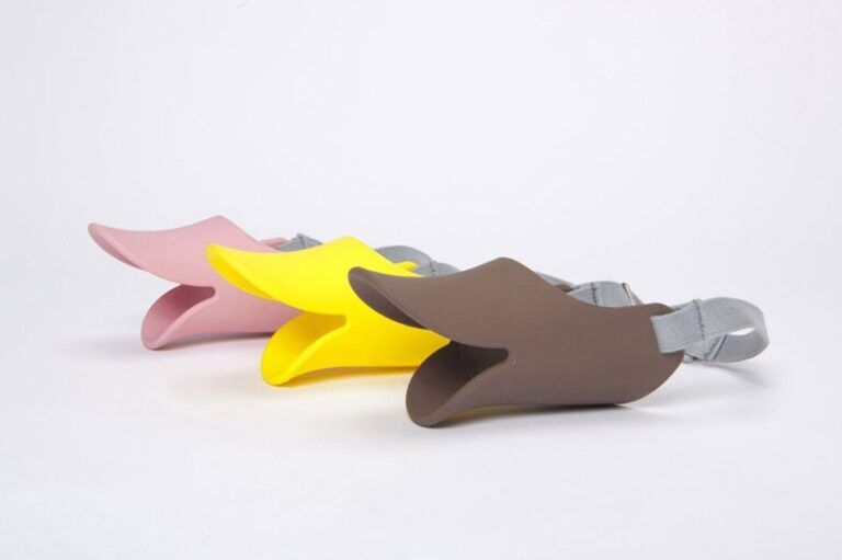 Duck Dog Muzzle Availabe in 3 Colors