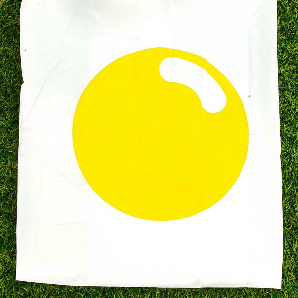 Egg Poncho Sunny Side Up Cartoon Design