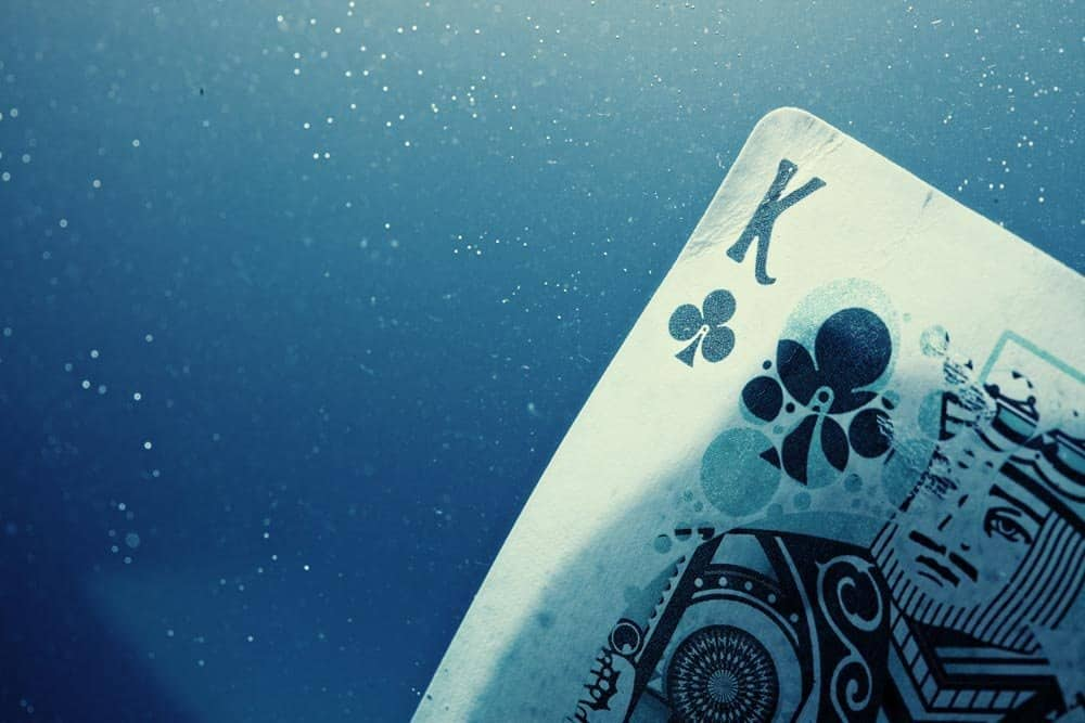 Fathom Playing Cards King of Clubs