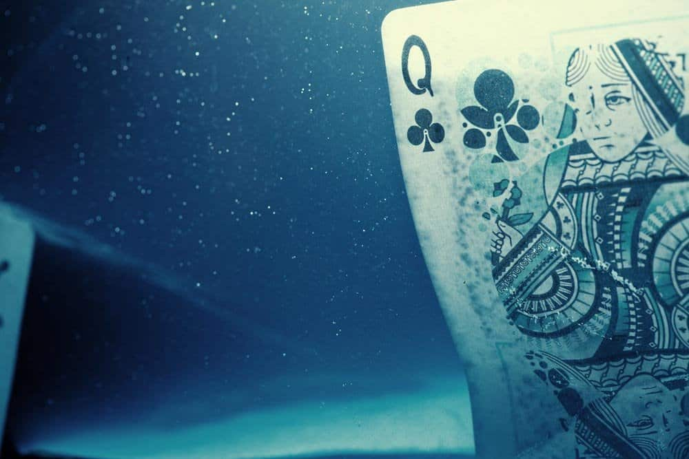 Fathom Playing Cards Queen of Clubs