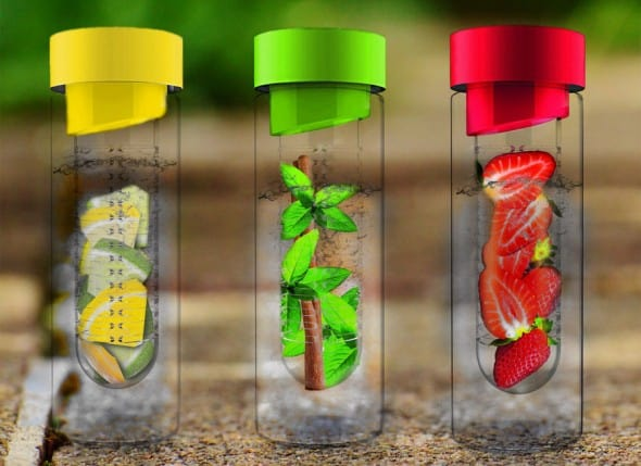 Flavor It Water Bottle Fruit Drink Healthy Living 2