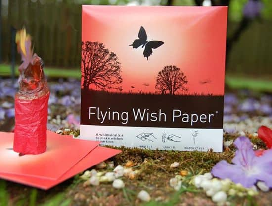 Flying Wish Paper Celebrate Wedding Event