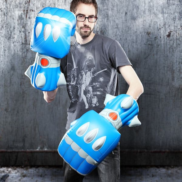 Giant Robot Battle Fists Inflatable Novelty