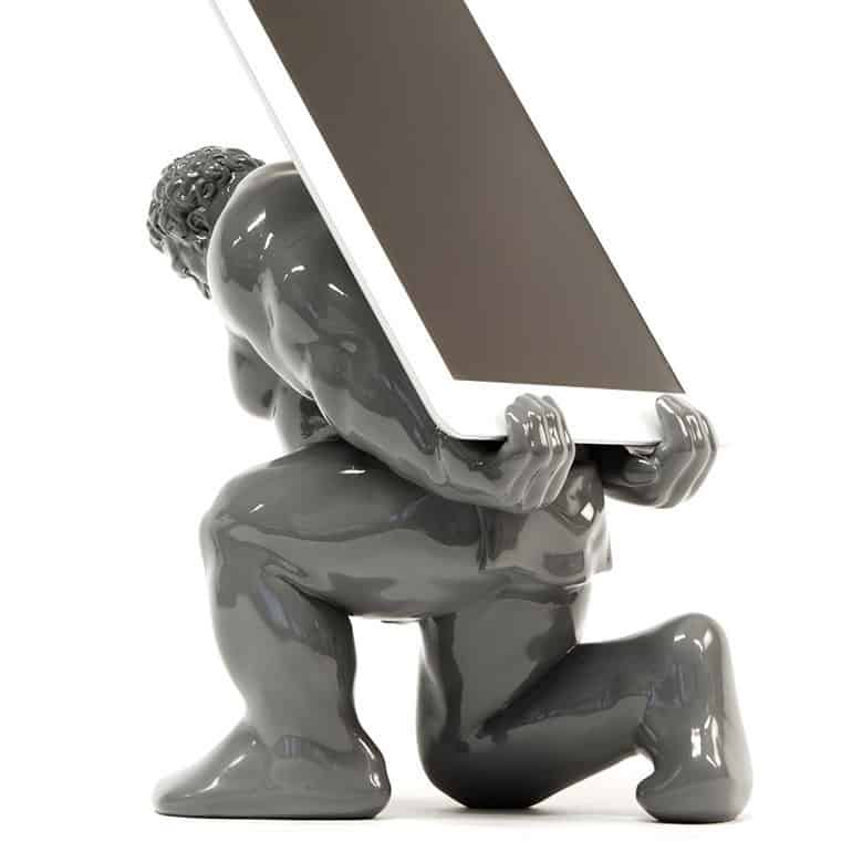 HerculesXIII Grey Sculpture Tablet Dock Station