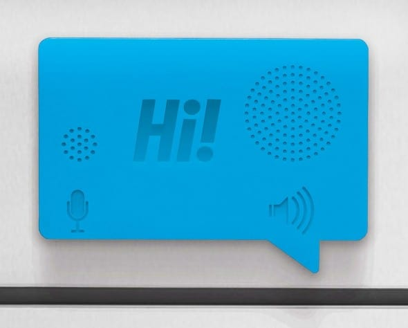 Hi Voice Recorder by Luckies Blue Kitchen Must Have