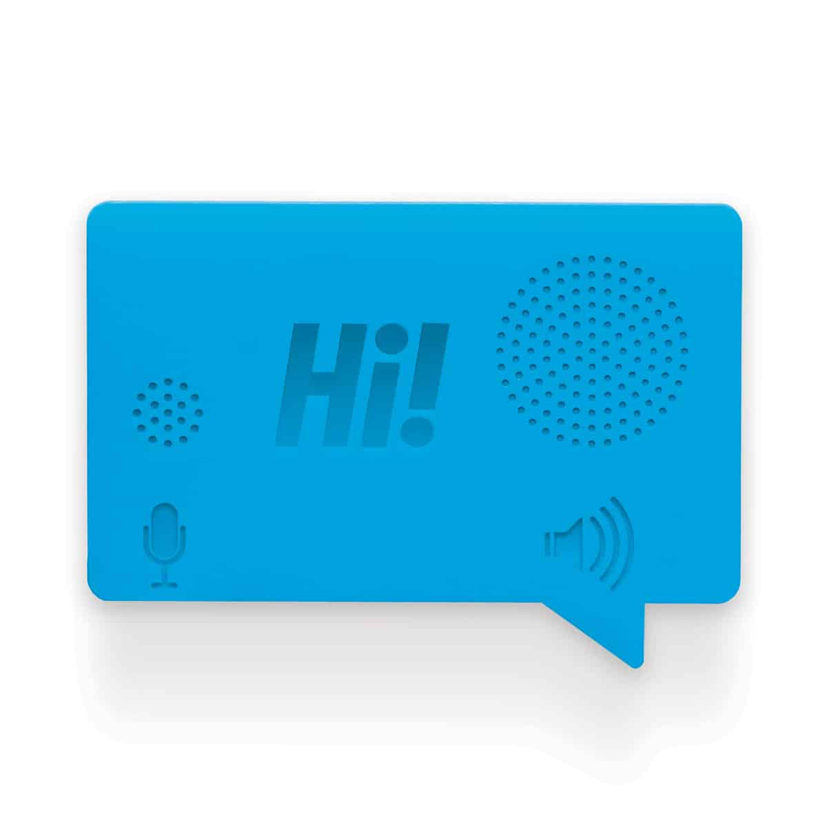 Hi Voice Recorder by Luckies Blue