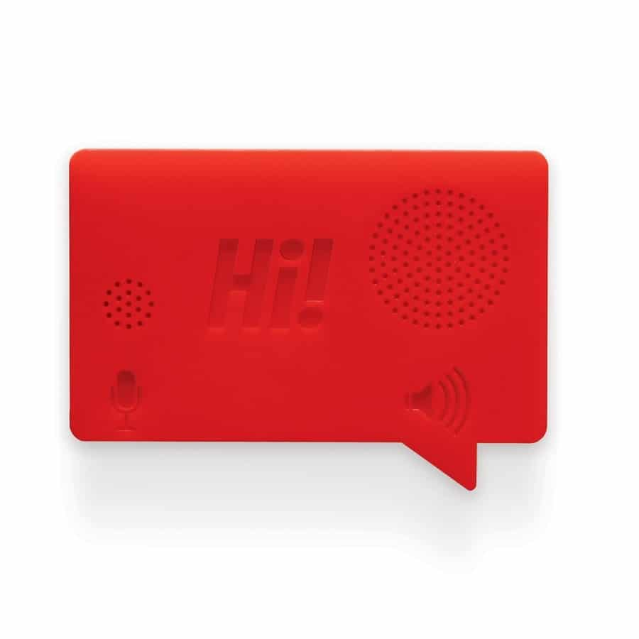 Hi Voice Recorder by Luckies Red