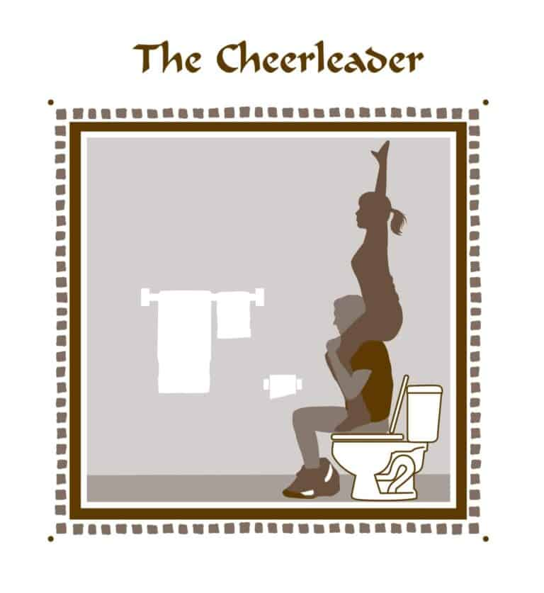 Kama Pootra Book The Cheerleader Page