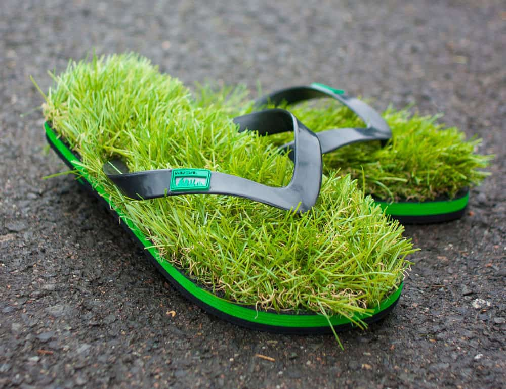 Ever wish you could always walk barefoot on the lawn?