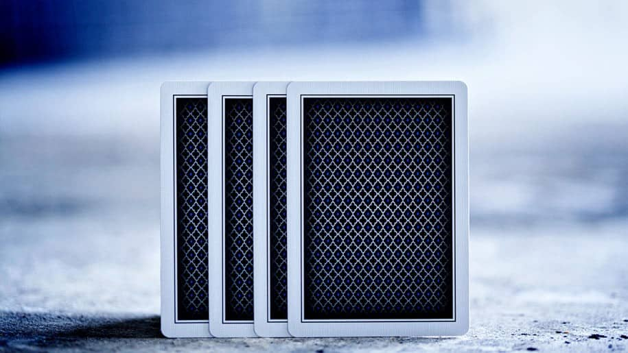 LTD Playing Cards Deck Blue Backface Design
