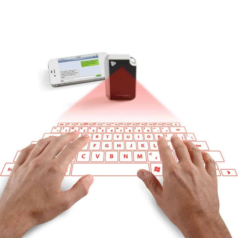 Laser Projection Virtual Keyboard Iphone