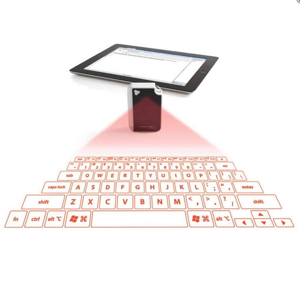 Laser Projection Virtual Keyboard Tablet