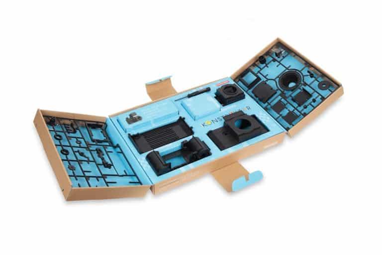 Lomography Konstruktor DIY 35mm SLR Camera Open Box