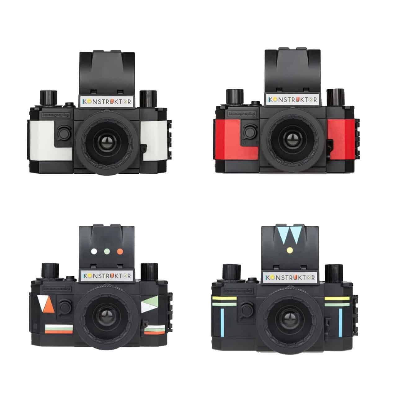 Lomography Konstruktor DIY 35mm SLR Camera Stickers