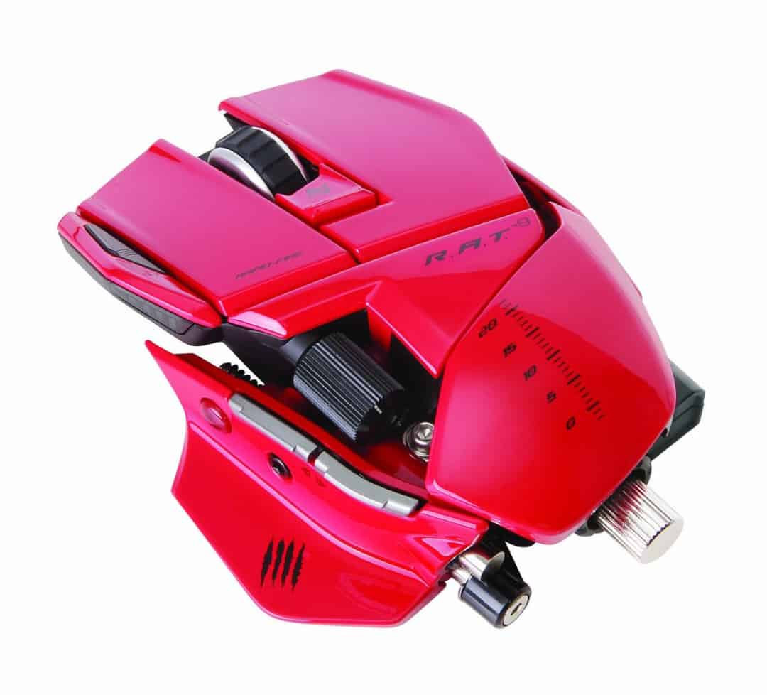 Mad Catz R.A.T.9 Gaming Mouse Red Cool Gift Ideas