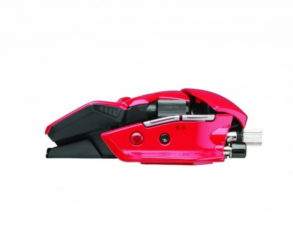 Mad Catz R.A.T.9 Gaming Mouse Side