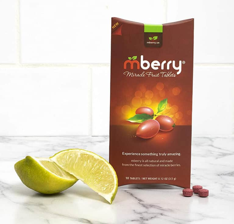 Mberry Miracle Berry Fruit Tablet Taste Altering Pills