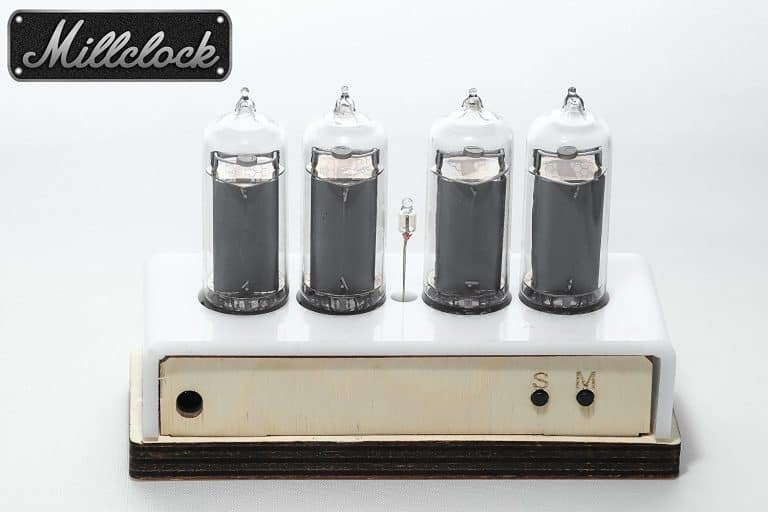 Millclock Nixie Tube Clock Back