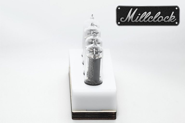 Millclock Nixie Tube Clock Side