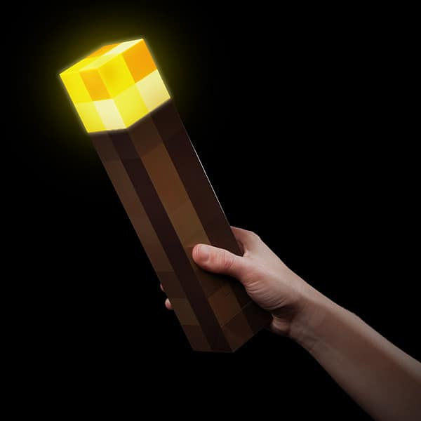 Minecraft Think Geek Wall Torch Dark