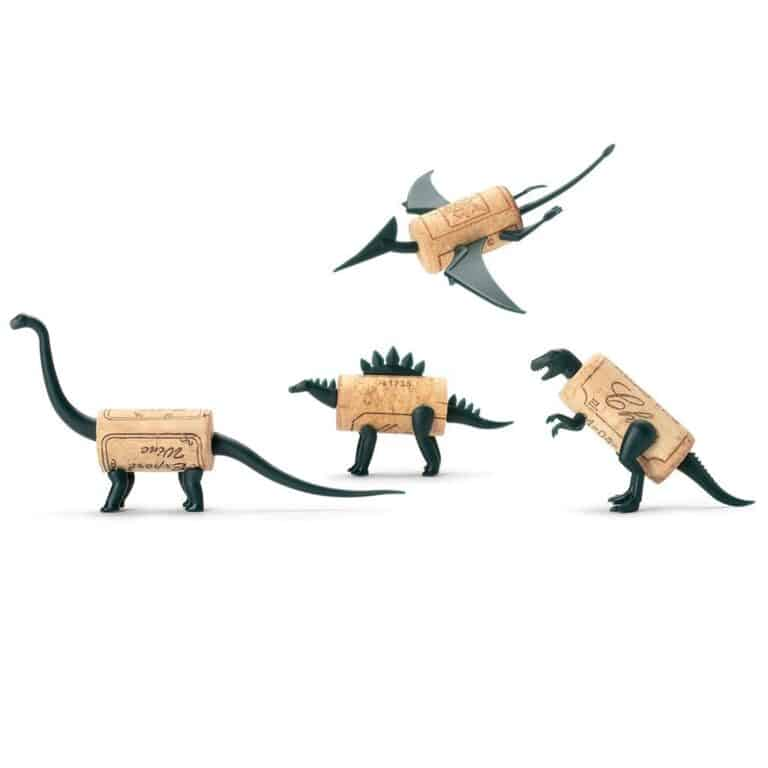 Monkey Business Corkers Wine Cork Figurines Dinosaur Family Pack