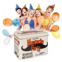 It is not a party until everyone has a mustache!