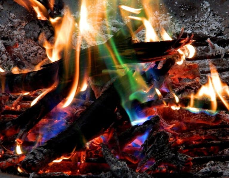 Mystical Fire Bonfire Colored Flame