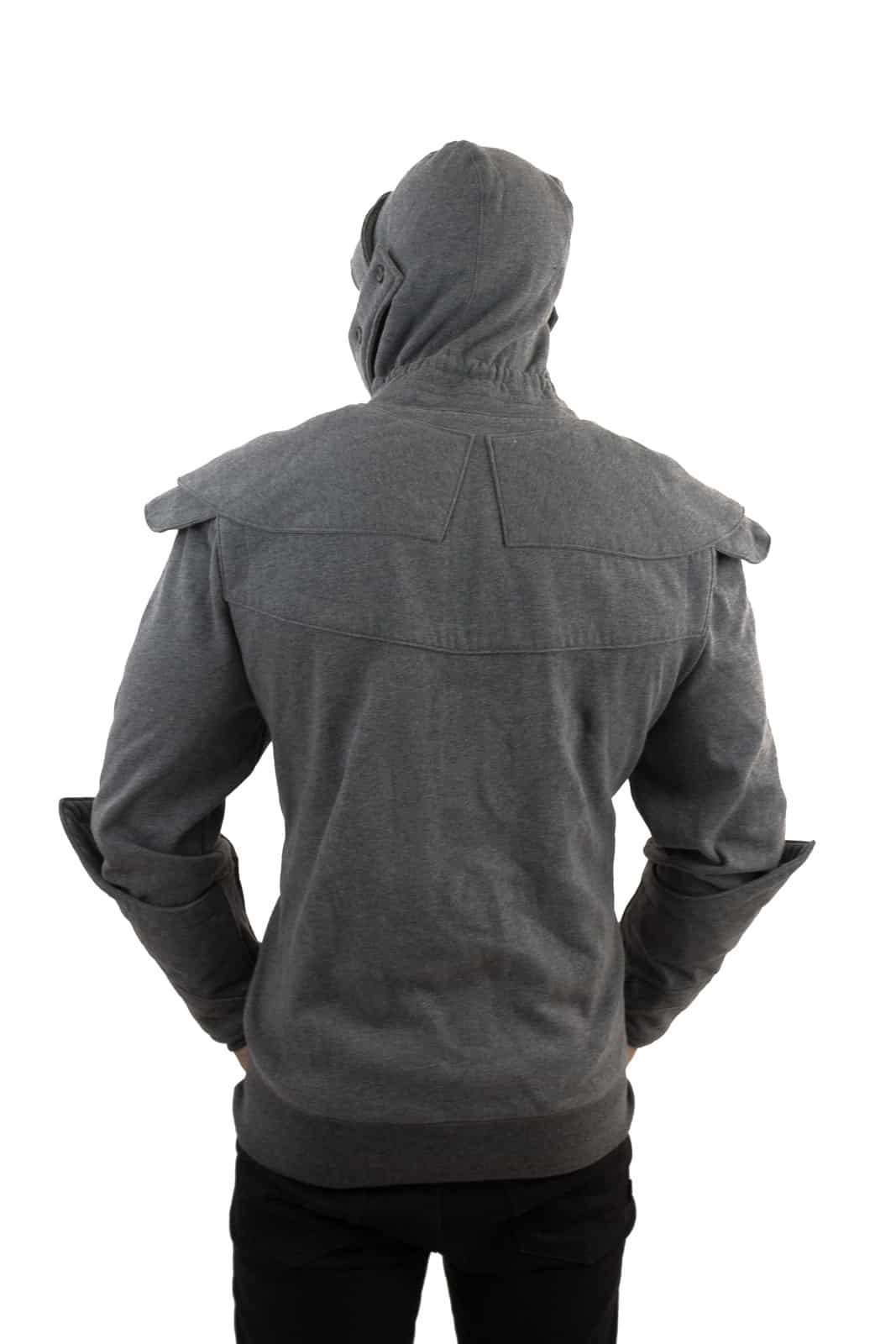 Official Knight Hoodie Rear View