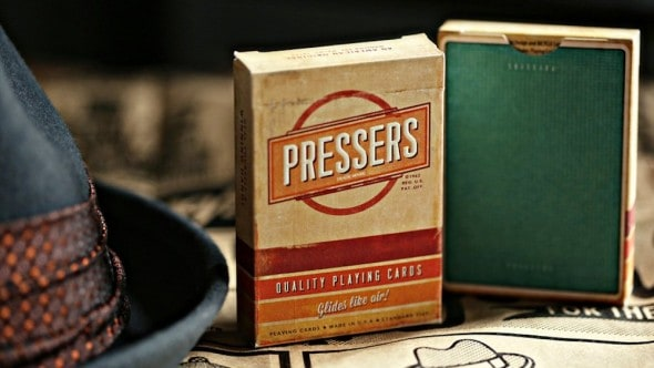 Pressers Mad Men Era Playing Cards