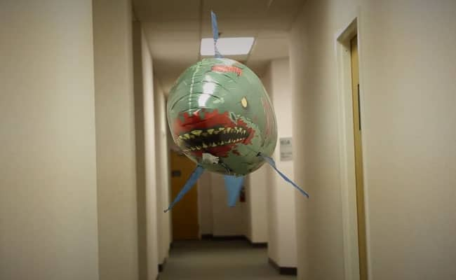 Remote Control Flying Zombie Shark Balloon Novelty Toy